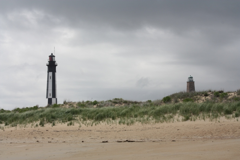 Fort Story Lighthouses (Old and New)