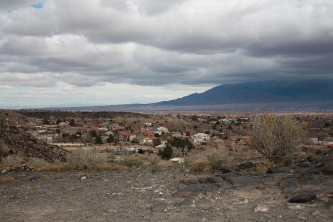 Petroglyph National Monument Landscape