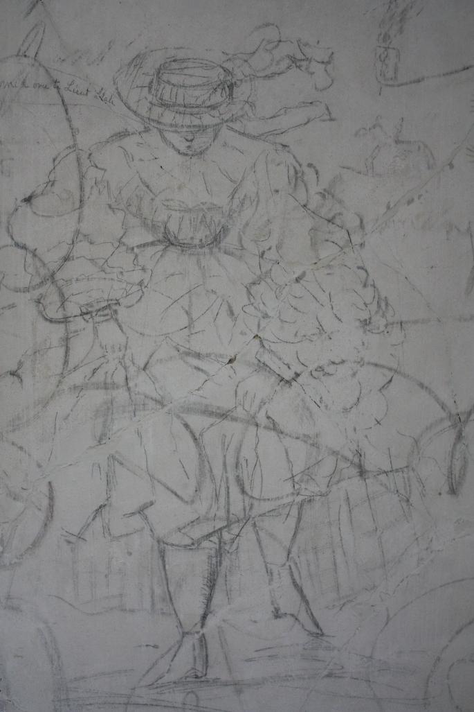 Graffiti House Lady