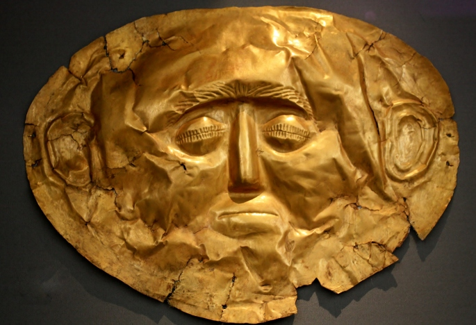 Mask of Mycenae 1