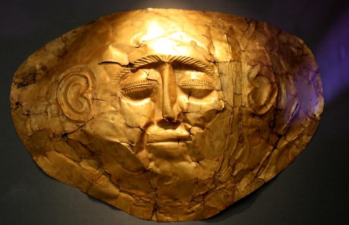 Mask of Mycenae 2