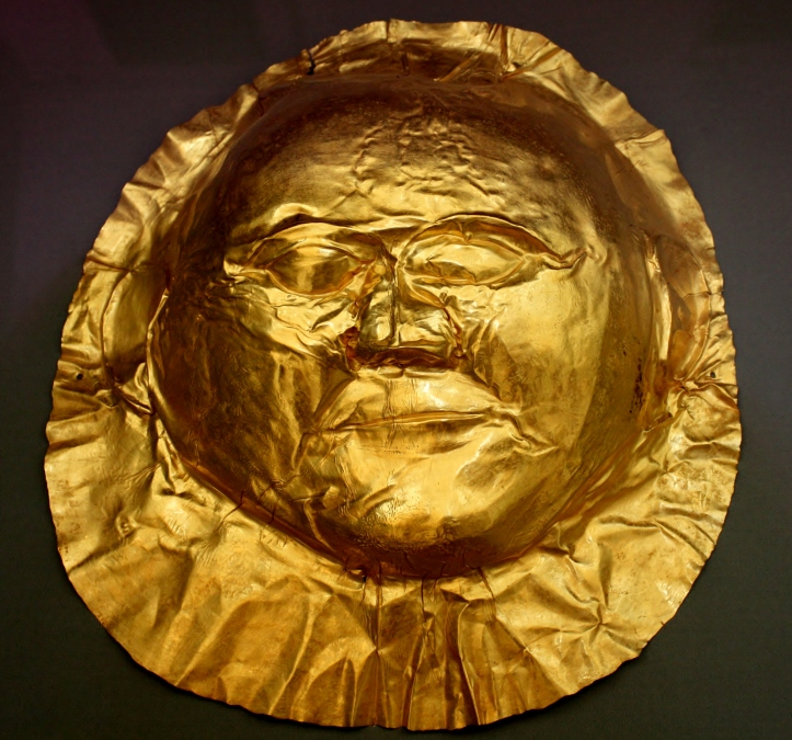 Mask of Mycenae 3