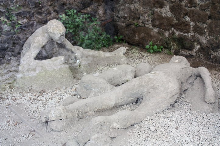Pompeii Cast of Human Remains