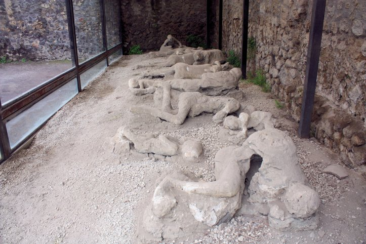 Pompeii Casts of Human Victims