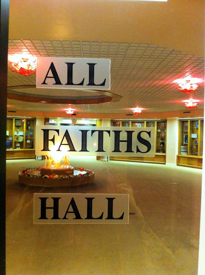 All faiths hall