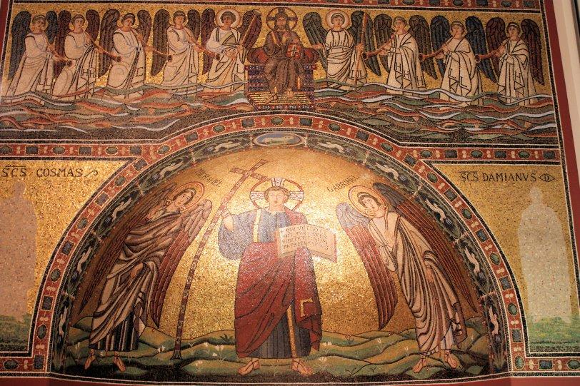 Bode Museum Berlin Ravenna Mosaic
