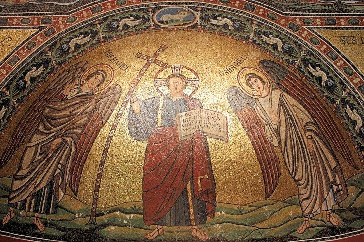 Church of San Michele in Africisco Mosiac from Ravenna in Berlin