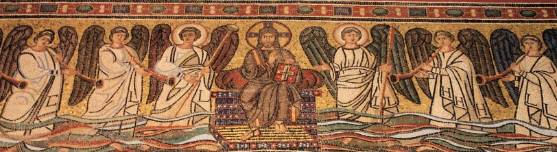 Detail Ravenna Apse Mosaic Berlin