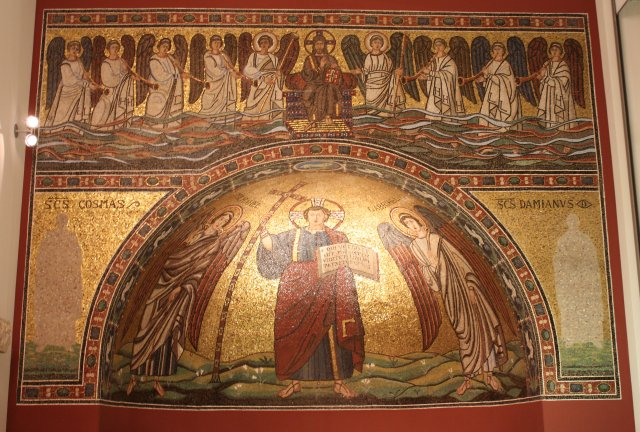 Ravenna Apse Mosaic Bode Museum Berlin