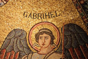 Ravenna Gabriel Apse Mosaic in Berlin