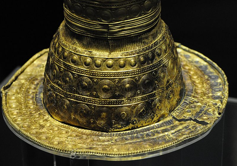 Berlin Gold Hat Detail Wikipedia Image