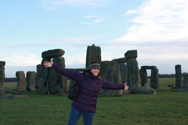 Jauntinge Jen at Stonehenge
