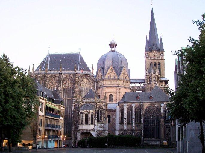 Aachen at Dusk