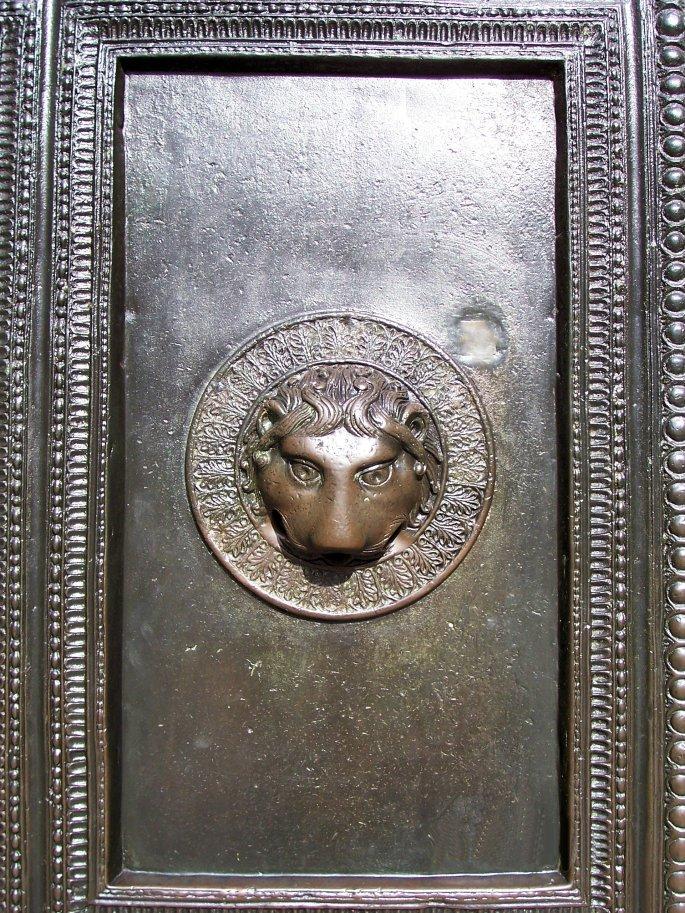 Aachen Bronze Door