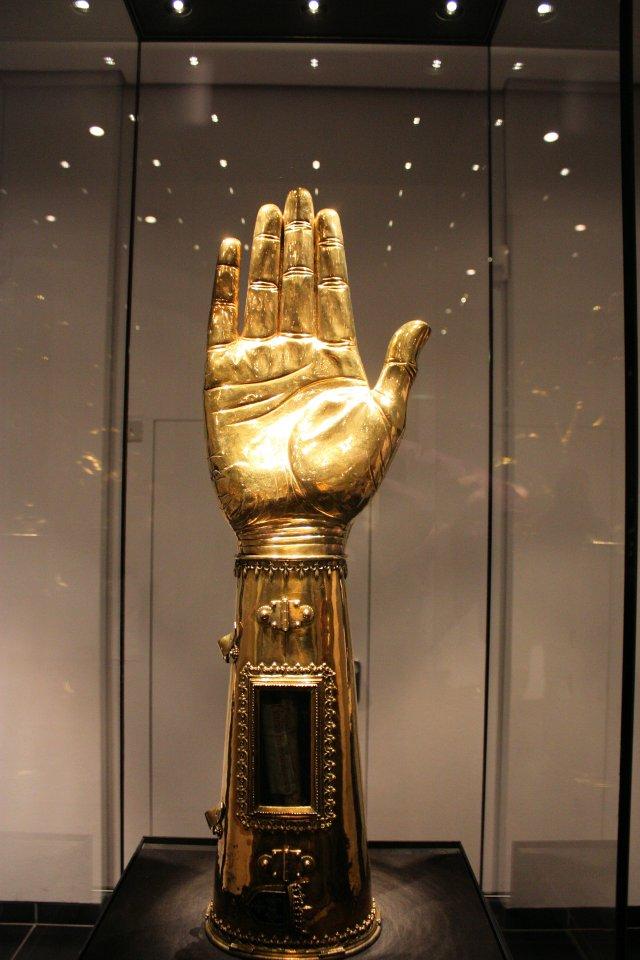 Charlemagne's Wrist Bone