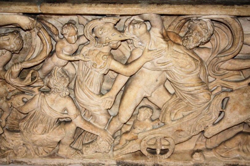Detail Persephone Sarcophagus