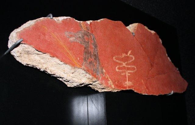 Mainz Annubis on Pottery Shard