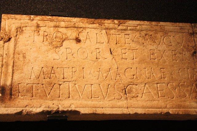 Mainz Mater Magna Inscription
