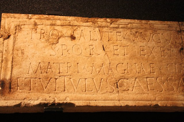 Mainz Mater Magna Inscription