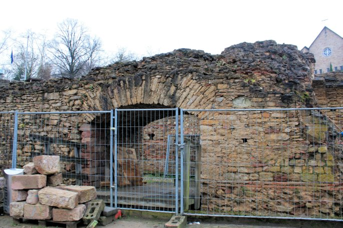 Remains of the Roman Theater Mainz