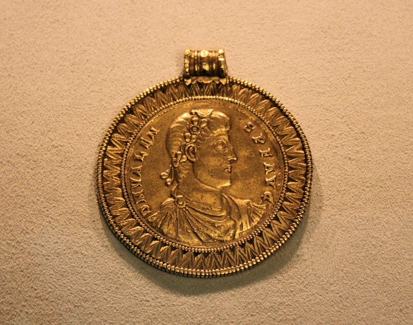 Emperor Valens from the Trier Mint 364 -378 CE