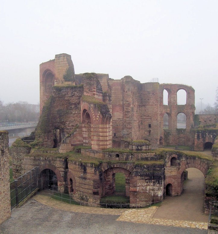 Trier Imperial Baths Ruins