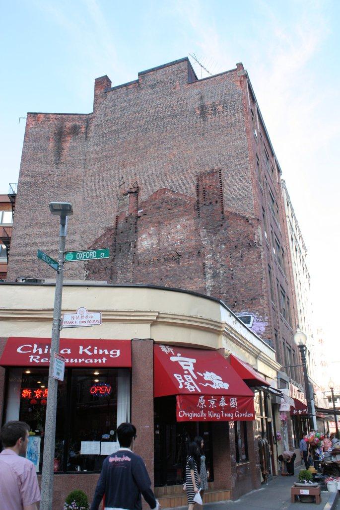 Boston Chinatown Historic Brick