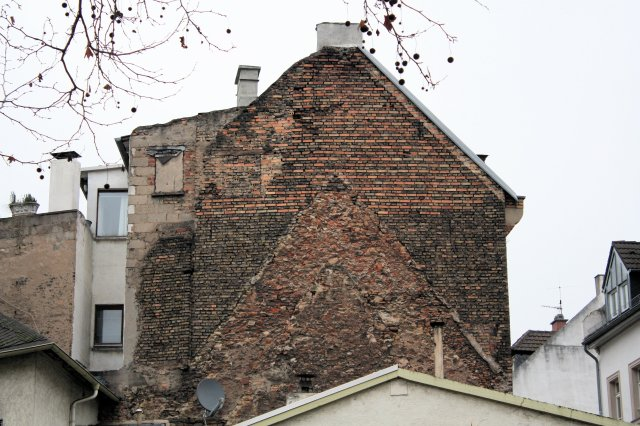 Mainz Historic Brick Building