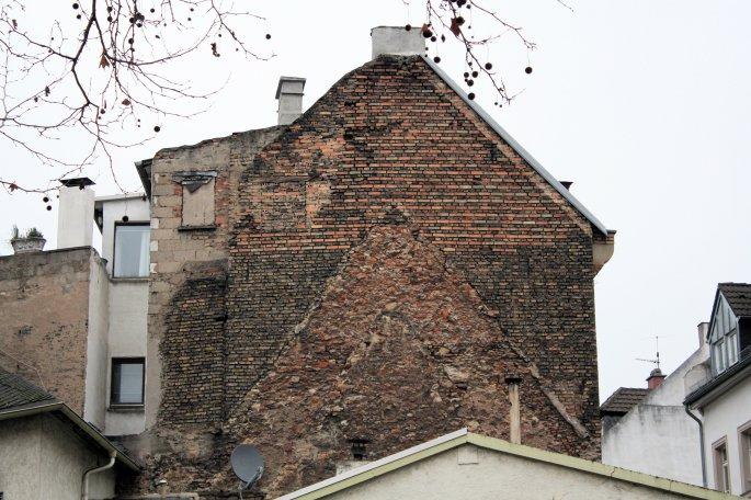 Mainz Historic Brick Building