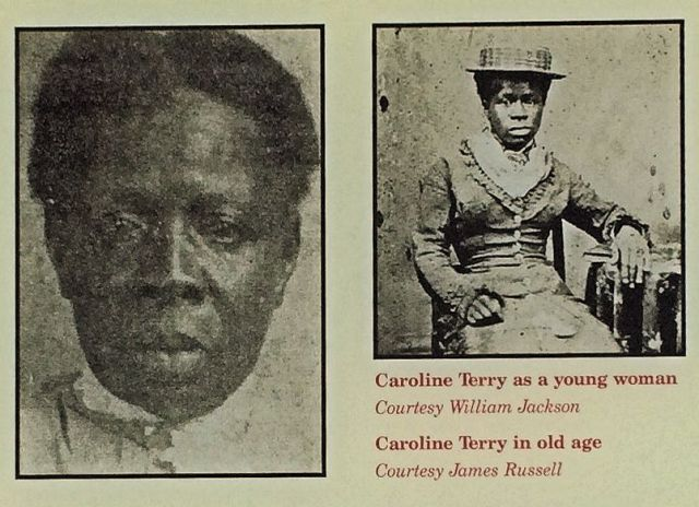 Sister Caroline Young and Old