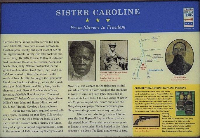 Sister Caroline's History