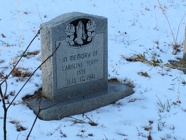 Sperryville Burial Site Caroline Terry