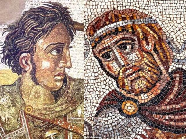 Two Faces of Alexander the Great